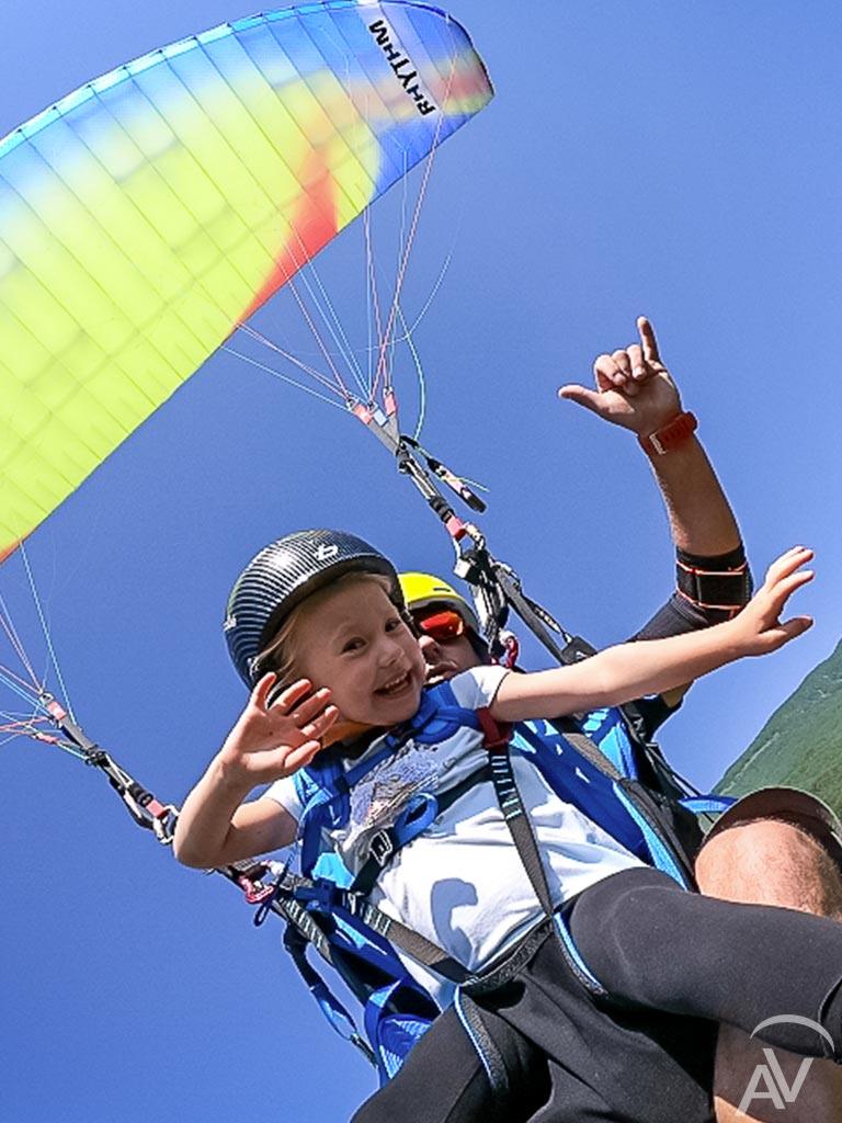 vol pour les enfant aix en vol parapente